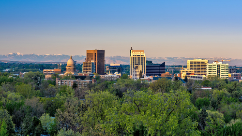 Boise, Idaho skyline – Invest in Boise, ID housing, real estate
