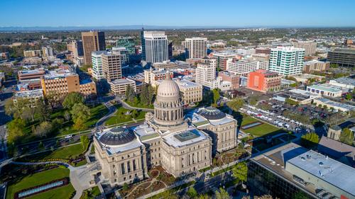 Boise, Idaho skyline – Boise makes international places to visit list