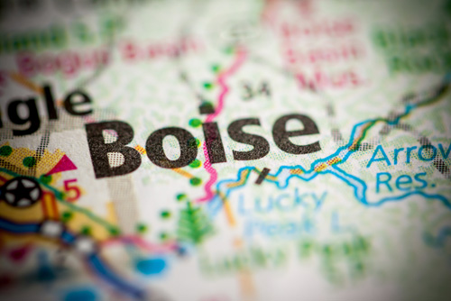 Boise, Idaho, map detail, Hottest housing markets 2019