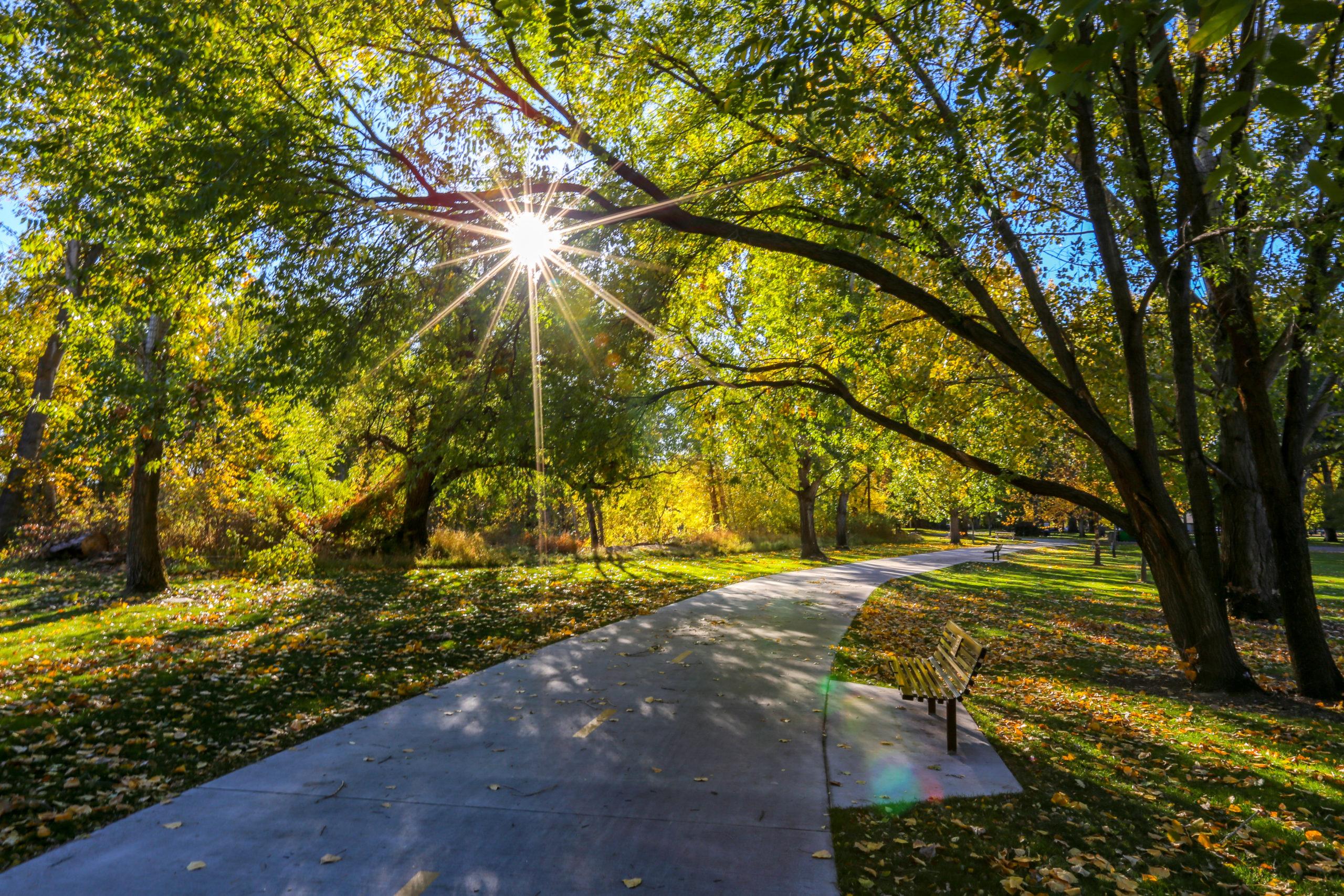 Boise, Idaho, biking path, Boise River