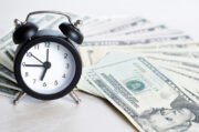 clock, cash, loan