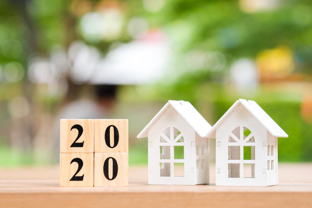 model houses, real estate 2020